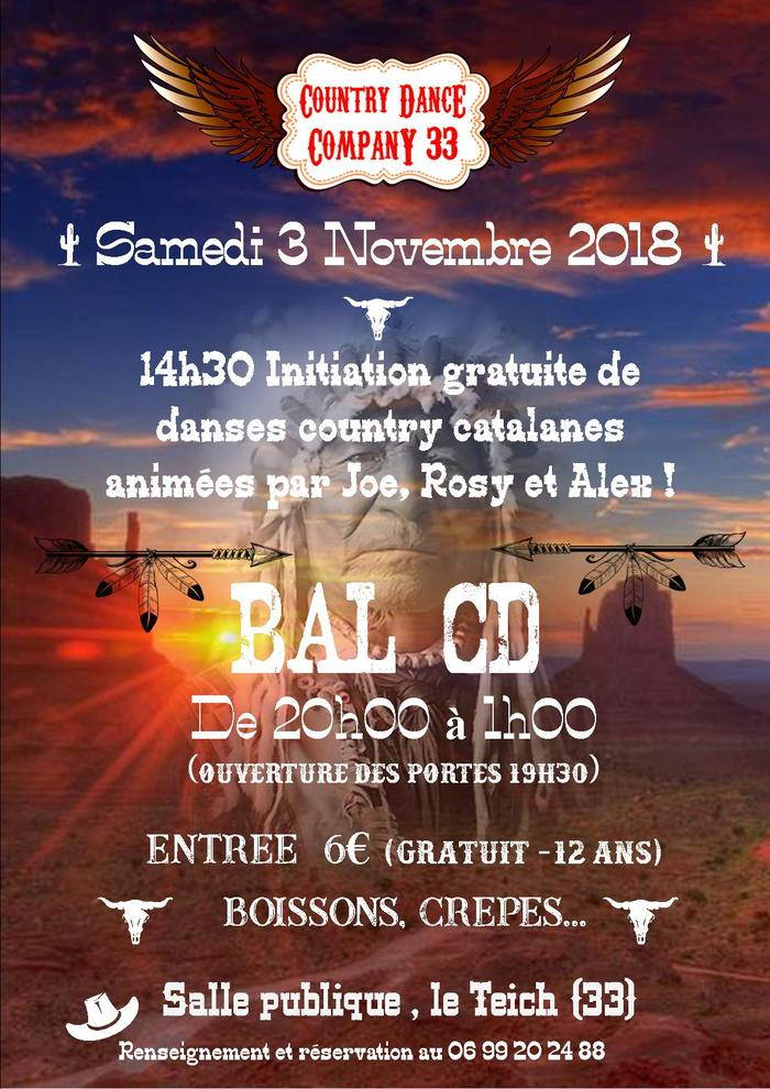 affiche-bal-country Le Teich Immobilier